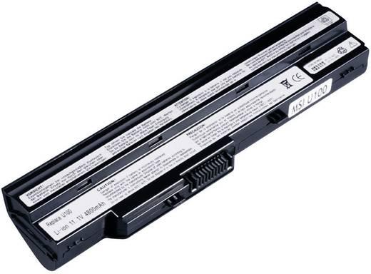 Notebook akku Beltrona Eredeti akku: BTY-S11,BTY-S12 11.1 V 4400 mAh