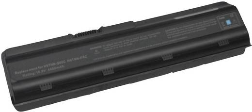 Litium ion laptop akkumulátor HP, Compaq típusokhoz 4400 mAh 10,8V Beltrona 252593