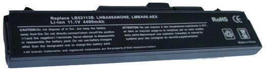 Notebook akku Beltrona Eredeti akku: LB32111B,LB52113B,LB52113D,LHBA06ANONE,LMBA06.AEX,LSBA06.AEX 11.1 V 4400 mAh