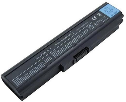 Litium ion laptop akkumulátor Toshiba típusokhoz 4400 mAh 11,1V Beltrona PA3594