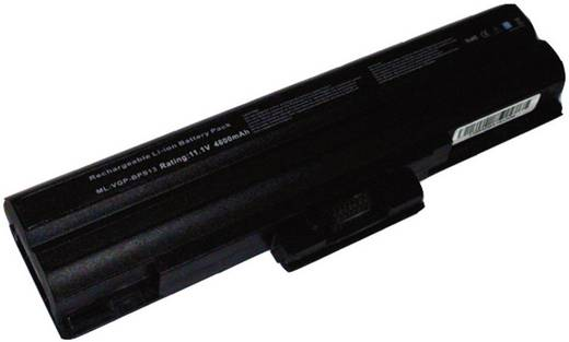 Litium ion laptop akkumulátor Sony típusokhoz 4400 mAh 11,1V Beltrona BPS13