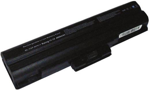 Litium ion laptop akkumulátor Sony típusokhoz 6600 mAh 11,1V Beltrona BPS13H