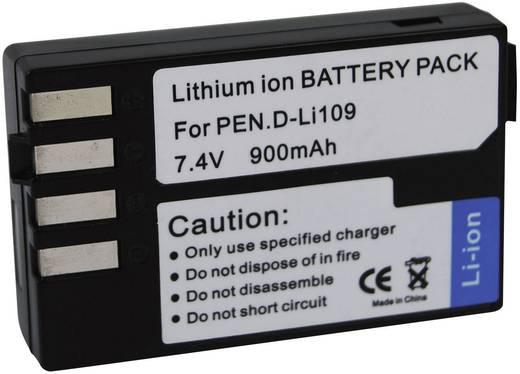 D-LI109 Pentax kamera akku 7,4 V 900 mAh, Conrad energy