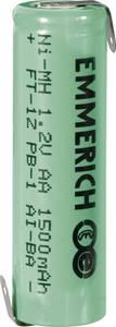 Forrasztható ceruza akku AA NiMH 1,2V 1500 mAh, forrfüles, Emmerich FT-1Z (255026) Emmerich