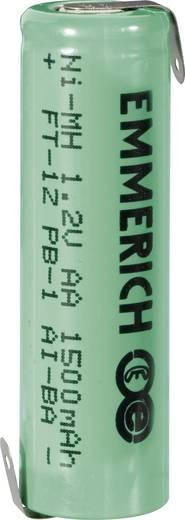 Forrasztható ceruza akku AA NiMH 1,2V 1500 mAh, forrfüles, Emmerich FT-1Z