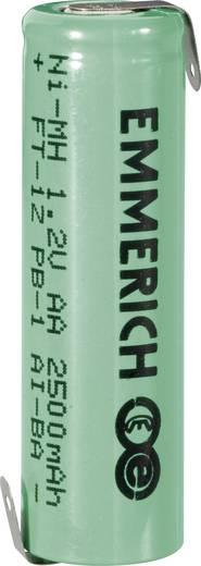 Forrasztható ceruza akku AA NiMH 1,2V 2500 mAh, forrfüles, Emmerich FT-1Z
