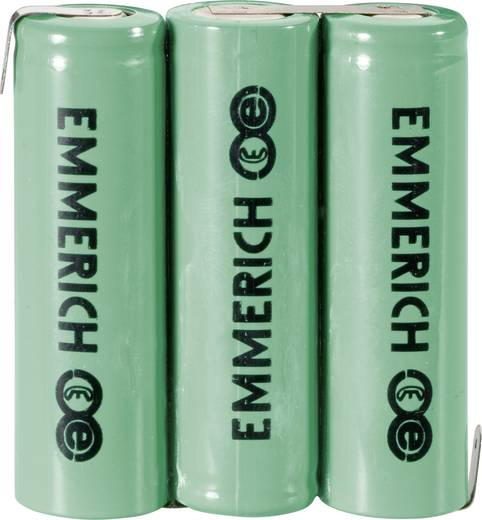 Emmerich NiMH csomag AA 1500 mAh 3,6V, FT-1Z