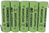 Akkucsomag, ceruza, Emmerich Ready to Use2200 mAh, 5, ceruza (AA), NiMH, 6 V, 1 db, ReadyToUse ceruza; (255070) Emmerich