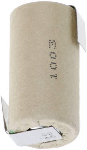 Panasonic Sub C NiMH forrfüles akkumulátor ZLF, HHR30SCP/PP-LF 1.2 V 3000 mAh 23 mm x 43 mm