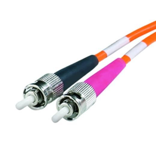 Üvegszáloptikás optikai kábel, fényhullámvezető kábel, ST optikai csatlakozóval Weidmüller