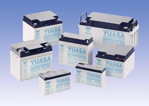 YUASA zselés akkumulátor, 12 V 38 Ah, ciklikus üzemre