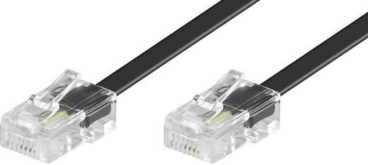 ISDN csatlakozókábel [1x RJ45 dugó 8p4c - 1x RJ45 dugó 8p4c] 6 m fekete Conrad
