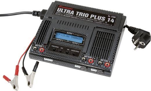 Modell multifunkciós töltő 12 V, 220 V 5 A Graupner
