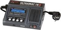 Modell multifunkciós töltő 12 V, 220 V 15 A Graupner Ultramat 16S Ólom, Lítiumion, LiPolimer, NiCd, NiMH (6468) Graupner