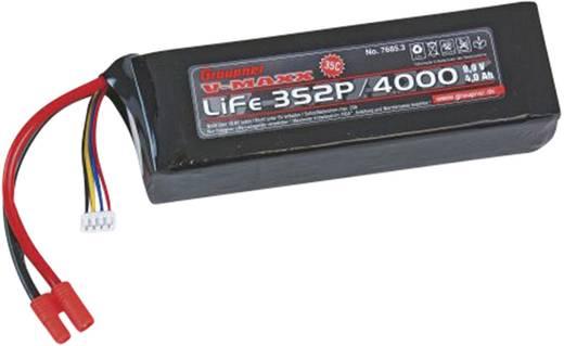 Graupner LiFePo 4 V-Maxx (35 C) 9.9V / 4000 mAh kapacitású G3.5 / EH csatlakozóval ellátott akkupack