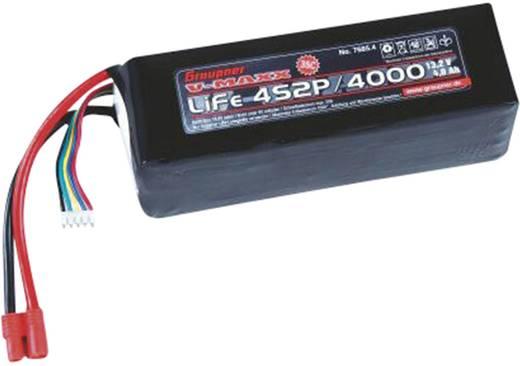 Graupner LiFePo 4 V-Maxx (35 C) 13.2V / 4000 mAh kapacitású G3.5 / EH csatlakozóval ellátott akkupack