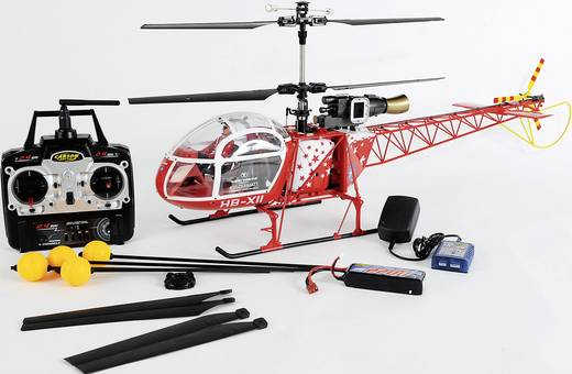 Kétrotoros RC modell helikopter Carson Lama SA 315B 2,4 GHz RtF (500507041)