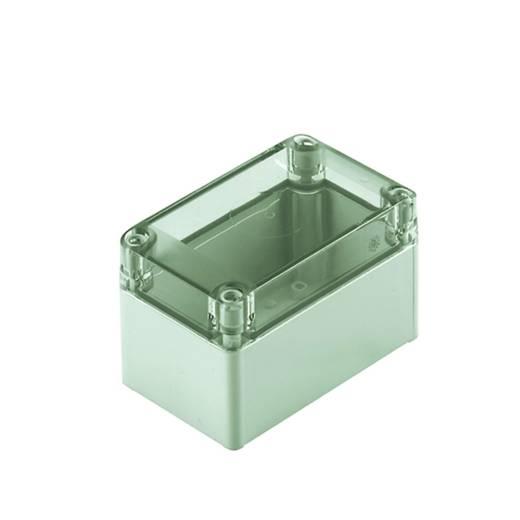Univerzális műszerdobozok polikarbonát, élénk szürke (RAL 7035) 75 x 75 x 125 Weidmüller MPC 07/12/07 trsp, 1 db