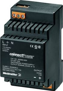Weidmüller CP SNT 24W 12V 1.5A Kapcsolótápegység 12 V/DC 1.5 A 24 W 1 x Weidmüller
