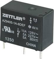 Miniatűr teljesítményrelé AZ9405, 10 A Zettler Electronics AZ9405-1A-12DEF 12 V/DC 1 záró 10 A 30 V/DC/277 V/AC (275850) Zettler Electronics