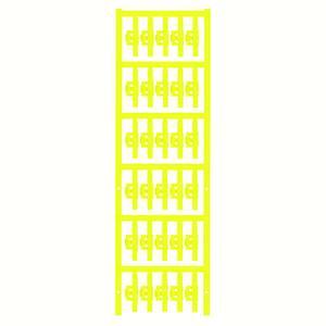 Kábeljelölő Szerelési mód: felcsíptetés Feliratozó felület: 4.10 x 30 mm Sorozat Külön huzalok Sárga Weidmüller SFC 1/30 Weidmüller