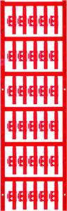 Kábeljelölő Szerelési mód: felcsíptetés Feliratozó felület: 4.10 x 30 mm Sorozat Külön huzalok Piros Weidmüller SFC 1/30 Weidmüller