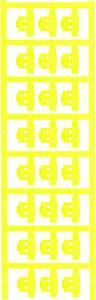 Kábeljelölő Szerelési mód: felcsíptetés Feliratozó felület: 5.80 x 21 mm Sorozat Külön huzalok Sárga Weidmüller SFC 2/21 Weidmüller