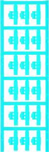 Kábeljelölő Szerelési mód: felcsíptetés Feliratozó felület: 5.80 x 30 mm Sorozat Külön huzalok Kék Weidmüller SFC 2/30 N Weidmüller