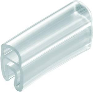 Kábeljelölő Szerelési mód: feltolás Feliratozó felület: 15 x 33 mm Sorozat Külön huzalok Átlátszó Weidmüller TM 208/15 V Weidmüller