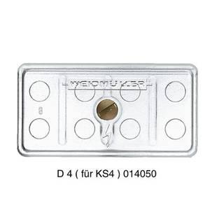 D6 KS6 TP Weidmüller Tartalom: 50 db Weidmüller