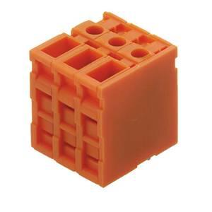 Csavaros szorító blokk Narancs 0298460000 Weidmüller Tartalom: 50 db Weidmüller