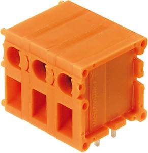 Csavaros szorító blokk Narancs 0394060000 Weidmüller Tartalom: 20 db Weidmüller