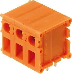 Csavaros szorító blokk Narancs 0394160000 Weidmüller Tartalom: 20 db Weidmüller