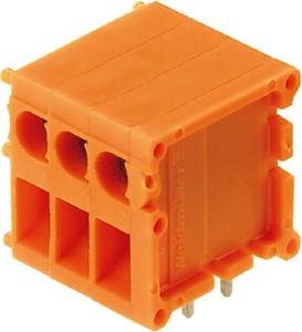 Csavaros szorító blokk Narancs 0594060000 Weidmüller Tartalom: 50 db Weidmüller