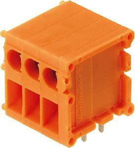 Csavaros szorító blokk Narancs 0594960000 Weidmüller Tartalom: 10 db Weidmüller