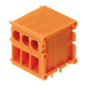 Csavaros szorító blokk Narancs 0642060000 Weidmüller Tartalom: 100 db Weidmüller