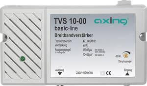 Antenna jelerősítő, szélessávú 47 - 862 MHz-ig +30 dB Axing TVS 10 Axing