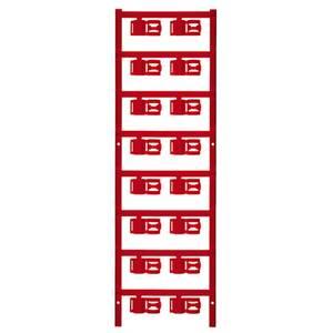 Weidmüller 1025240000 SFC 3/12 MC NE RT Kábeljelölő Szerelési mód: felcsíptetés Feliratozó felület: 5 x 12 mm Piros Jelö Weidmüller