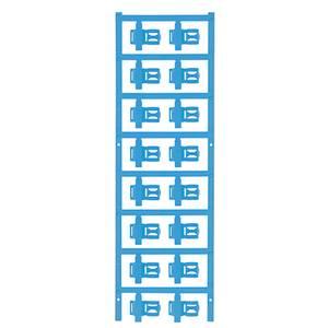 Weidmüller 1025300000 SFC 3/21 MC NE BL Kábeljelölő Szerelési mód: felcsíptetés Feliratozó felület: 5 x 21 mm Kék Jelölő Weidmüller