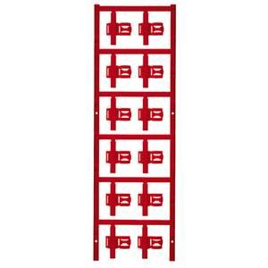 Weidmüller 1025330000 SFC 3/30 MC NE RT Kábeljelölő Szerelési mód: felcsíptetés Feliratozó felület: 5 x 30 mm Piros Jelö Weidmüller