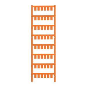 Weidmüller 1026580000 ESG X20 10/7 MC NE OR Készülékjelölő Szerelési mód: felcsíptetés Feliratozó felület: 7 x 10 mm Nar Weidmüller