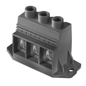 Csavaros szorító blokk Fekete 1047290000 Weidmüller Tartalom: 20 db Weidmüller