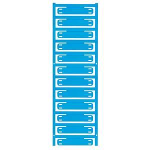 Vezeték jelölő Szerelési mód: Kábelkötegelő Feliratozó felület: 11 x 60 mm Sorozat Külön huzalok, Univerzális használat Weidmüller