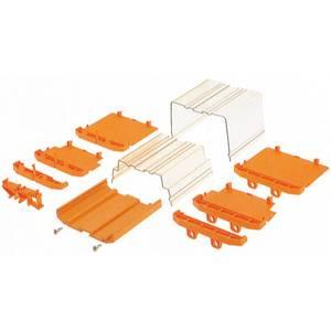Kalapsín doboz végzáró 108.2 x 21.5 x 101.7 Weidmüller AP 111 D BK 10 db Weidmüller