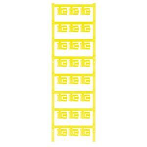 Kábeljelölő Szerelési mód: felcsíptetés Feliratozó felület: 5.80 x 12 mm Sorozat Külön huzalok Sárga Weidmüller SFC 2.5/ Weidmüller