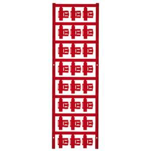 Kábeljelölő Szerelési mód: felcsíptetés Feliratozó felület: 5.80 x 21 mm Sorozat Külön huzalok Piros Weidmüller SFC 2.5/ Weidmüller