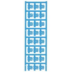 Kábeljelölő Szerelési mód: felcsíptetés Feliratozó felület: 5.80 x 21 mm Sorozat Külön huzalok Kék Weidmüller SFC 2.5/21 Weidmüller