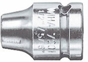 """Bit összekötő feszítő gyűrűvel, 12,5 mm (1/2"""")/6,3 mm (1/4""""), Wiha 01922 Wiha"""