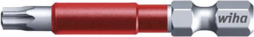 """49-es torx bit műanyag tokban, T15, 6,3 mm (1/4""""), hossz: 49 mm, 5 db, Wiha MaxxTor-Bit 36839"""