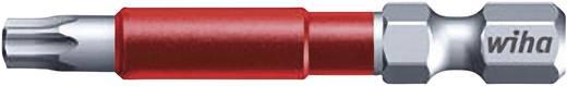 """49-es torx bit műanyag tokban, T30, 6,3 mm (1/4""""), hossz: 49 mm, 5 db, Wiha MaxxTor-Bit 36842"""